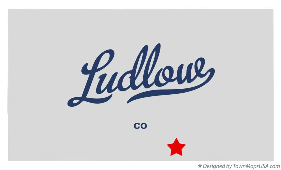 Map of Ludlow Colorado CO