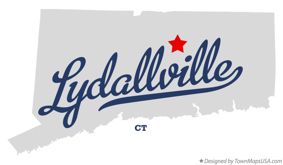Map of Lydallville Connecticut CT