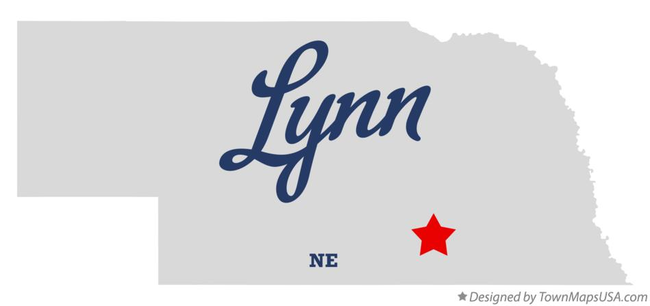 Map of Lynn Nebraska NE