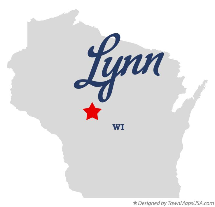 Map of Lynn Wisconsin WI
