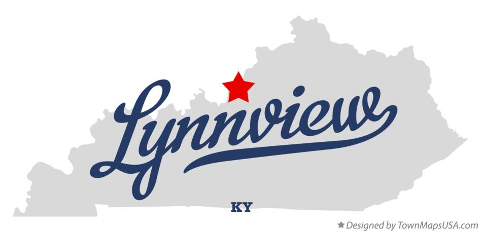Map of Lynnview Kentucky KY