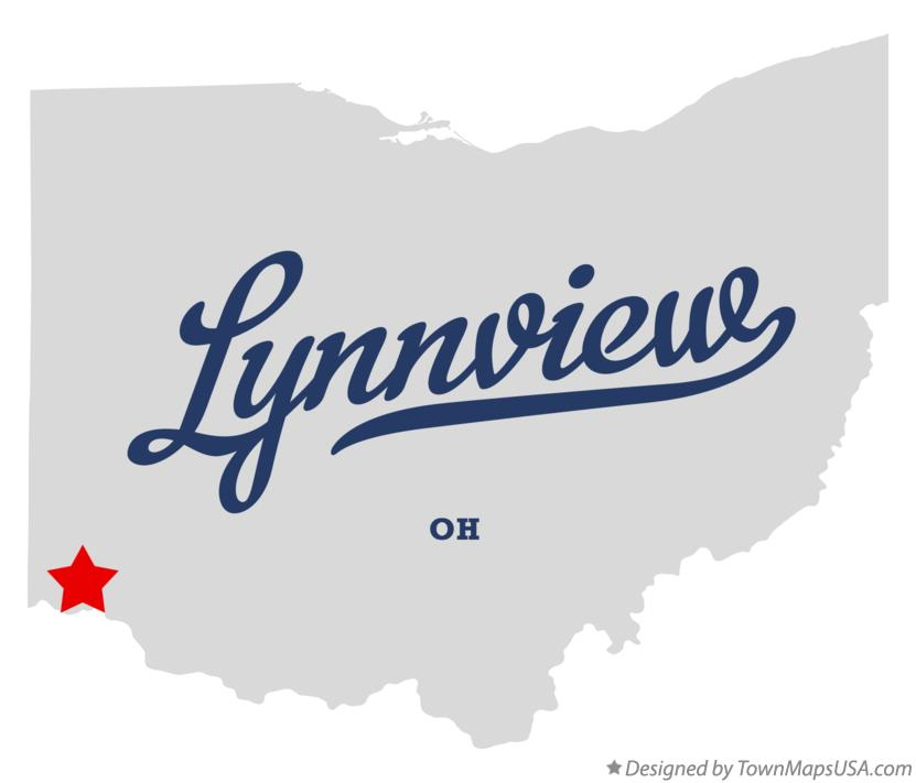 Map of Lynnview Ohio OH