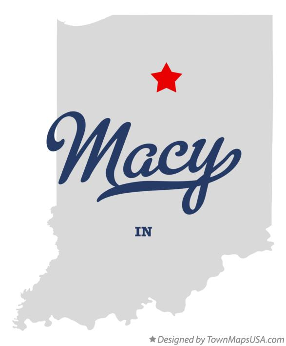 Map of Macy Indiana IN