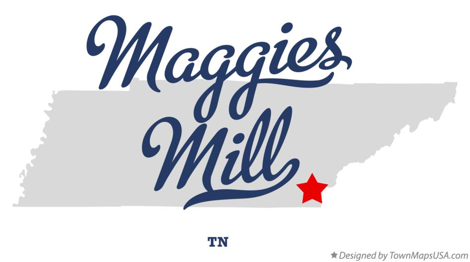 Map of Maggies Mill Tennessee TN