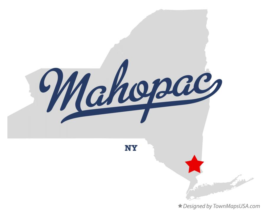 Map of Mahopac New York NY