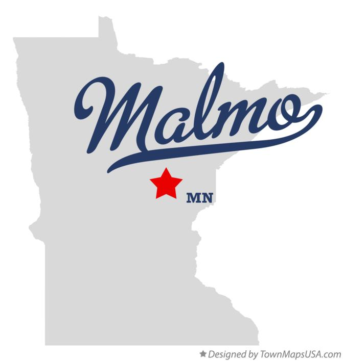 Map of Malmo Minnesota MN