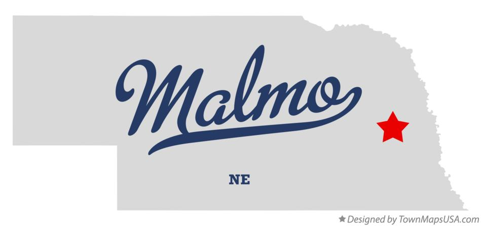 Map of Malmo Nebraska NE
