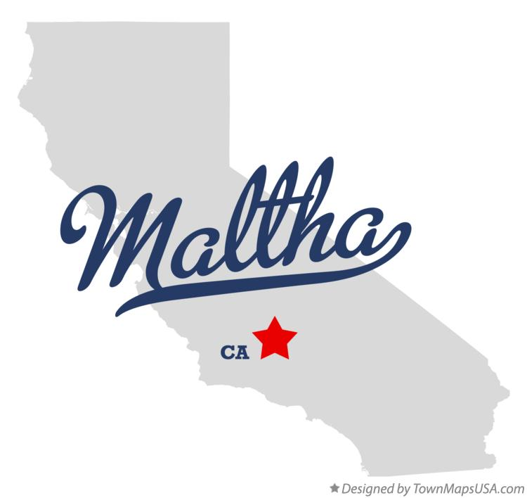 Map of Maltha California CA