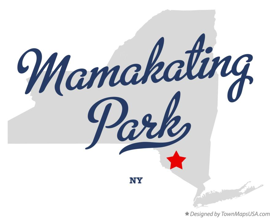 Map of Mamakating Park New York NY