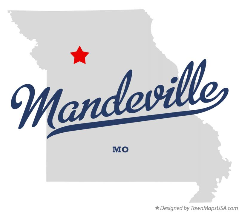 Map of Mandeville Missouri MO