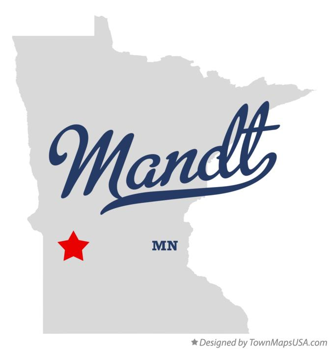 Map of Mandt Minnesota MN