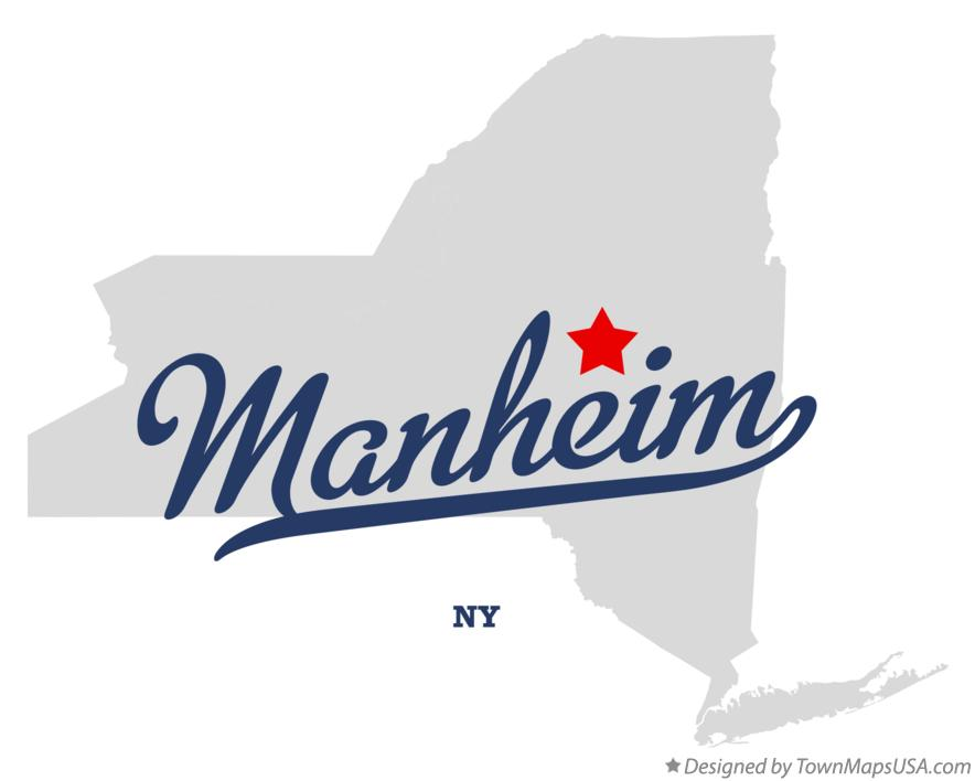 Map of Manheim New York NY