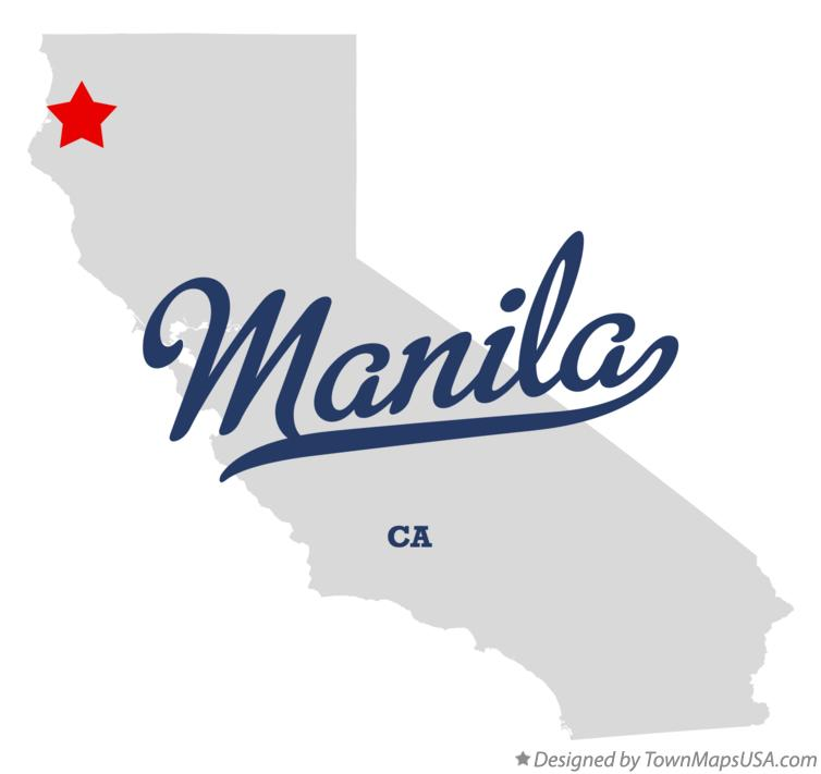 Map of Manila California CA