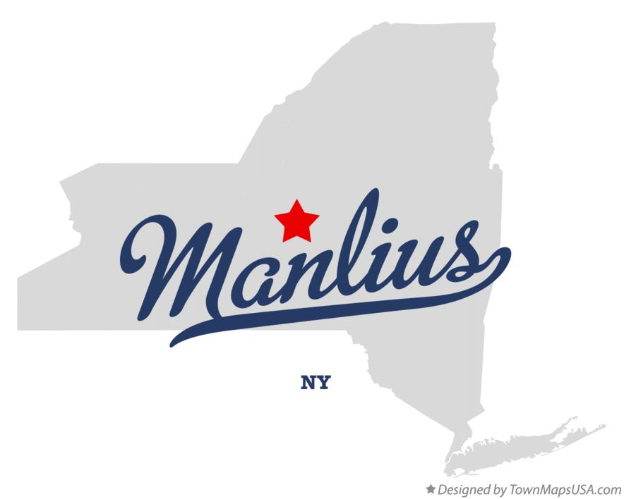 Map of Manlius New York NY