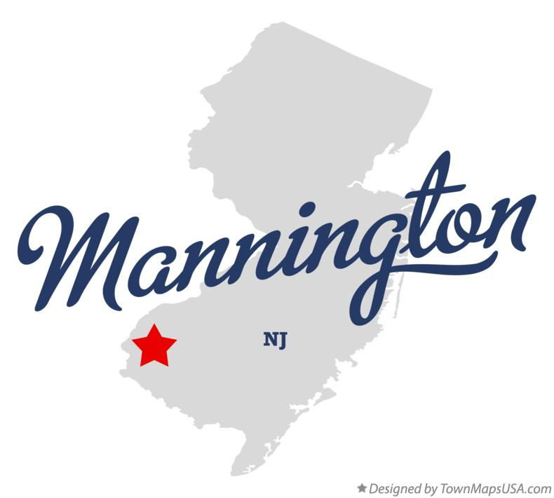 Map of Mannington New Jersey NJ