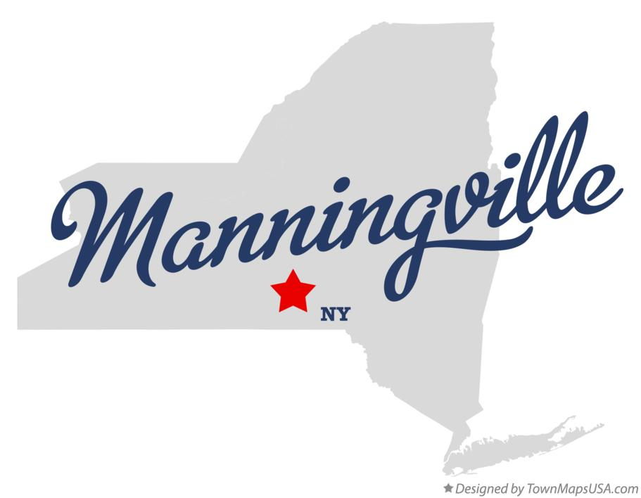 Map of Manningville New York NY