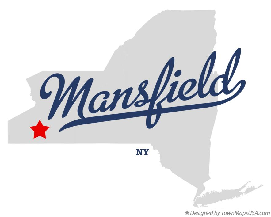 Map of Mansfield New York NY