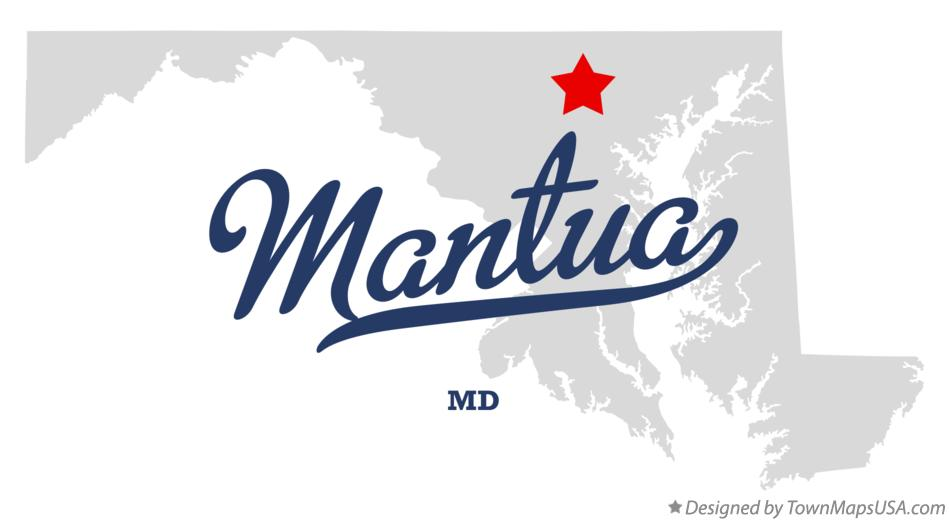 Map of Mantua Maryland MD
