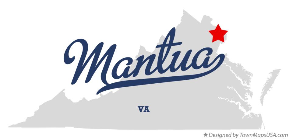 Map of Mantua Virginia VA