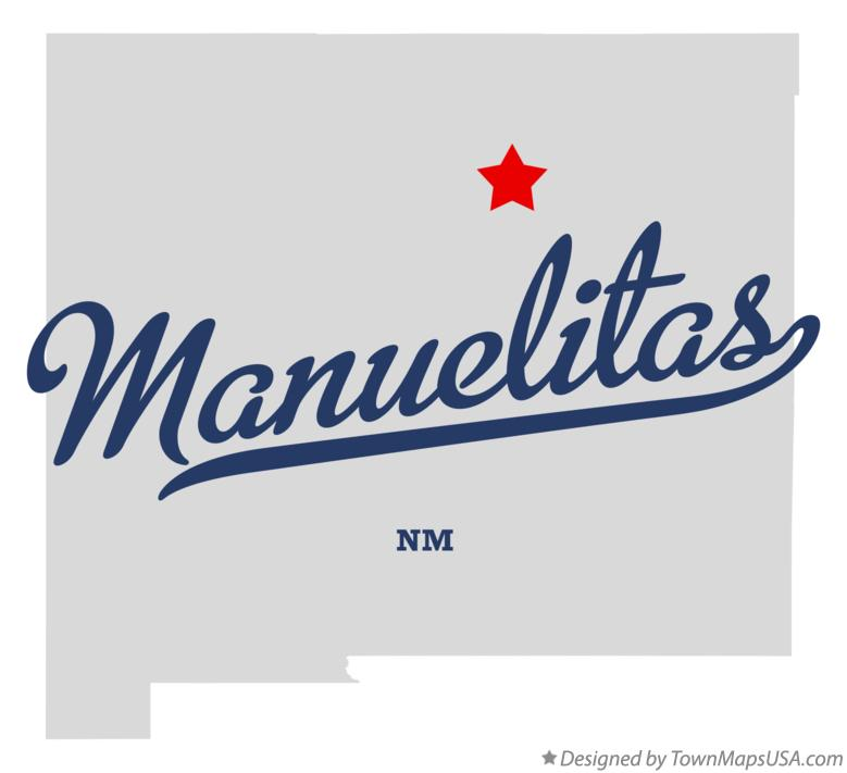 Map of Manuelitas New Mexico NM
