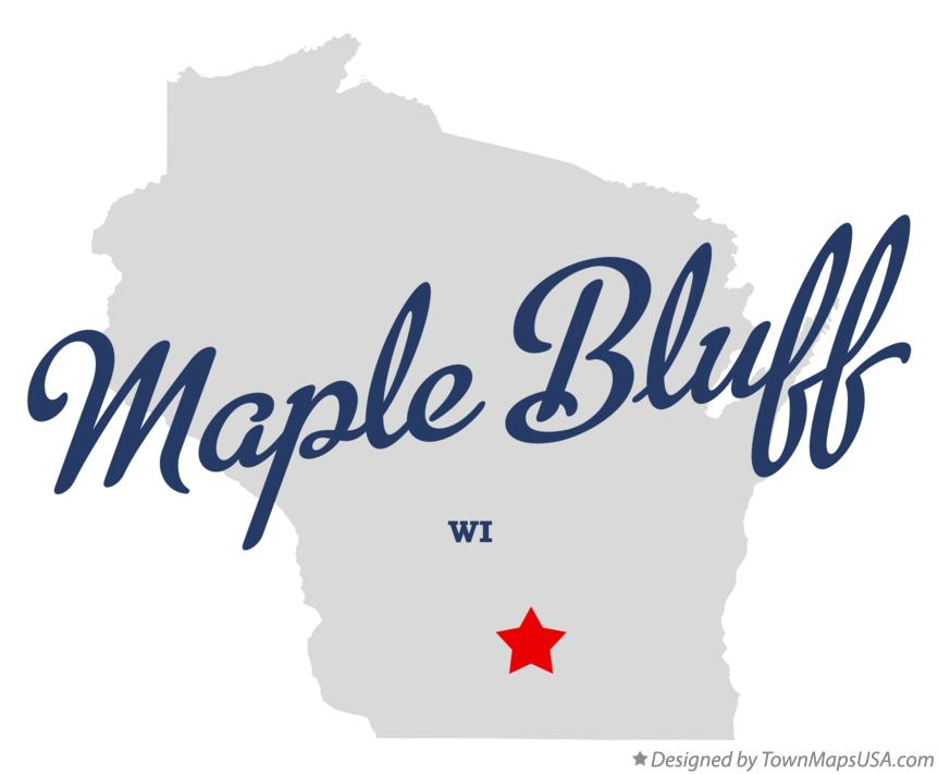 Map of Maple Bluff Wisconsin WI
