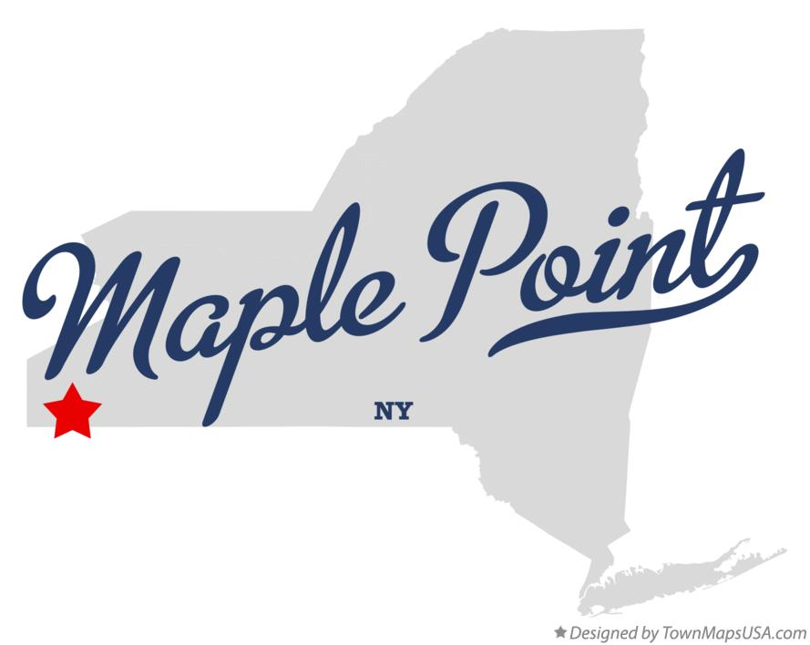 Map of Maple Point New York NY