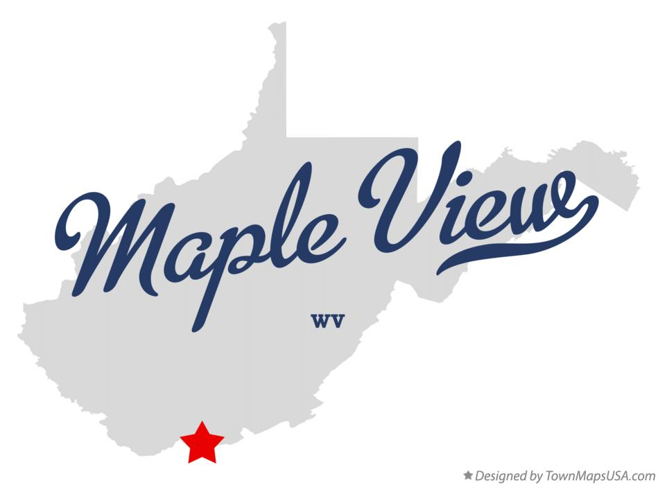 Map of Maple View West Virginia WV
