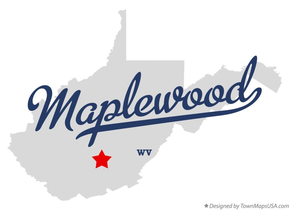 Map of Maplewood West Virginia WV