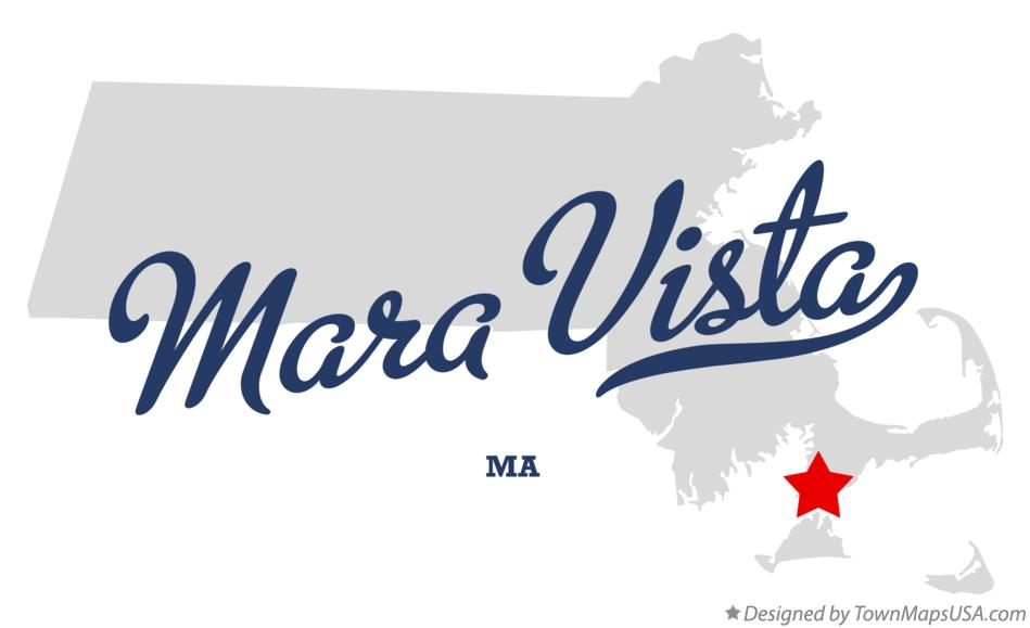 Map of Mara Vista Massachusetts MA
