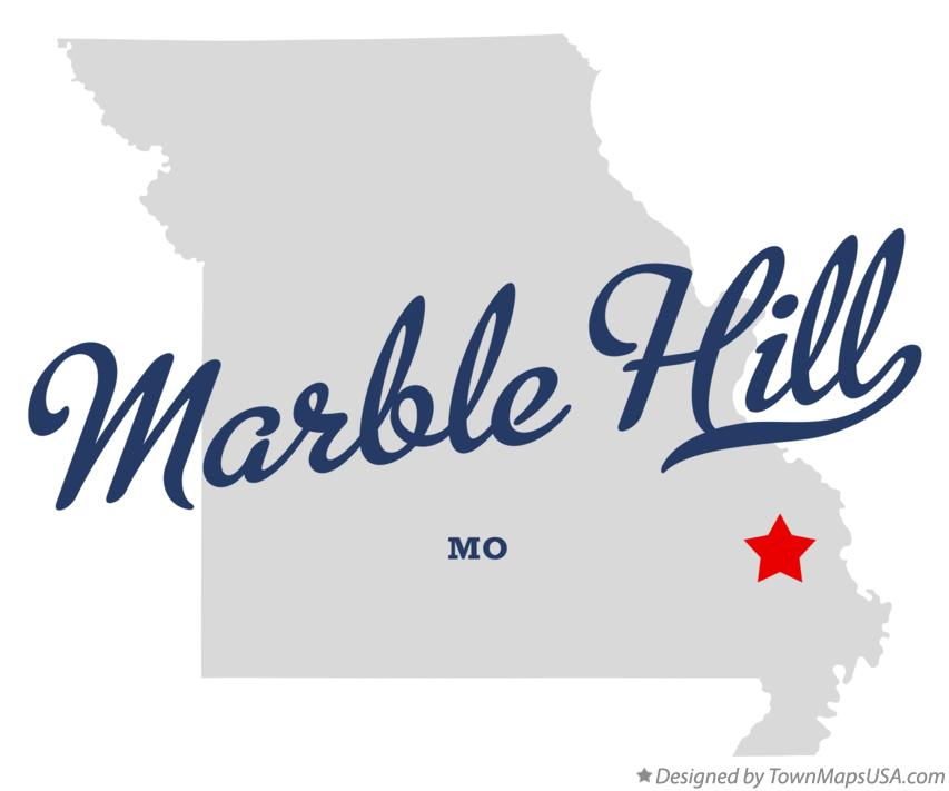 Map of Marble Hill Missouri MO