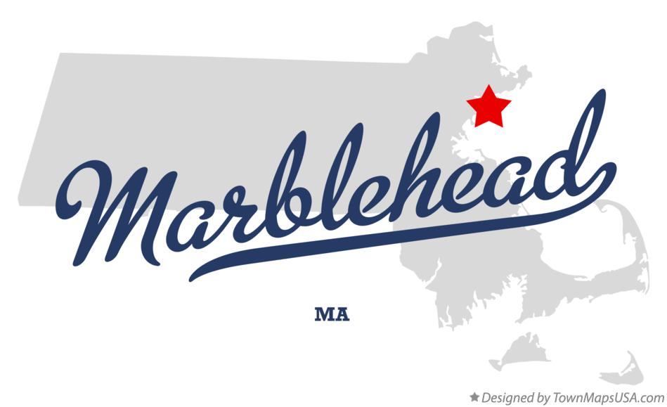 Map of Marblehead Massachusetts MA