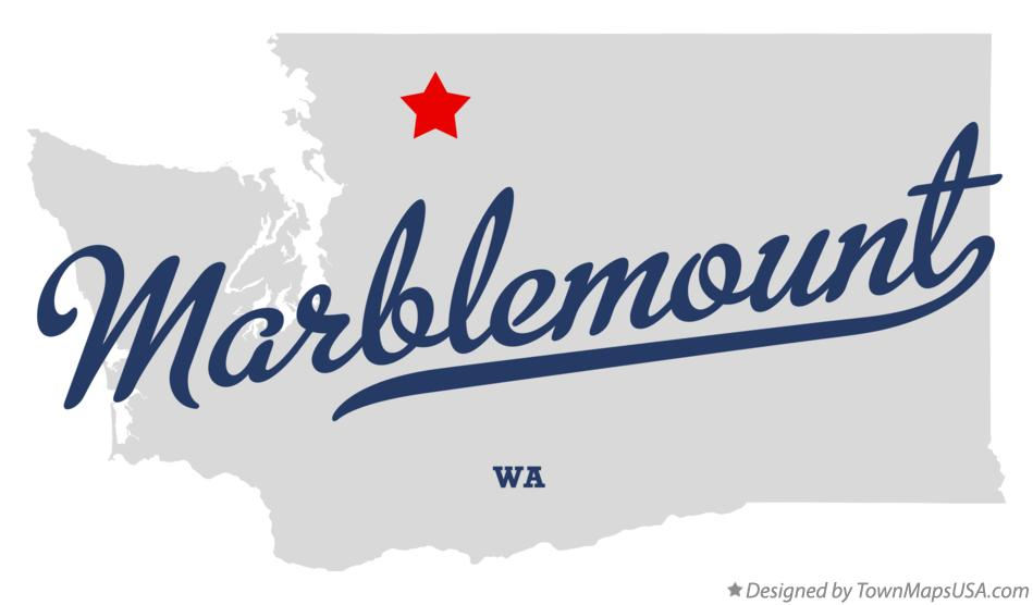 Map of Marblemount Washington WA