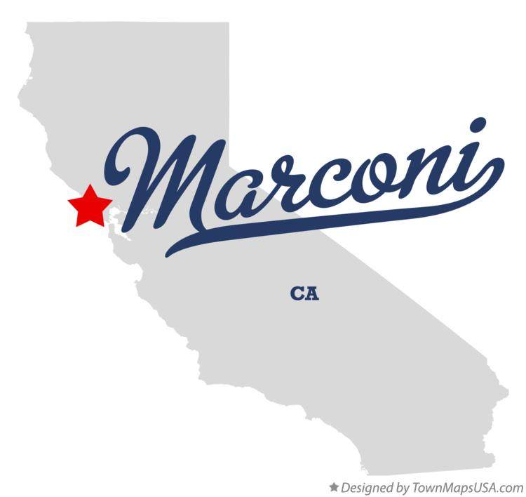 Map of Marconi California CA