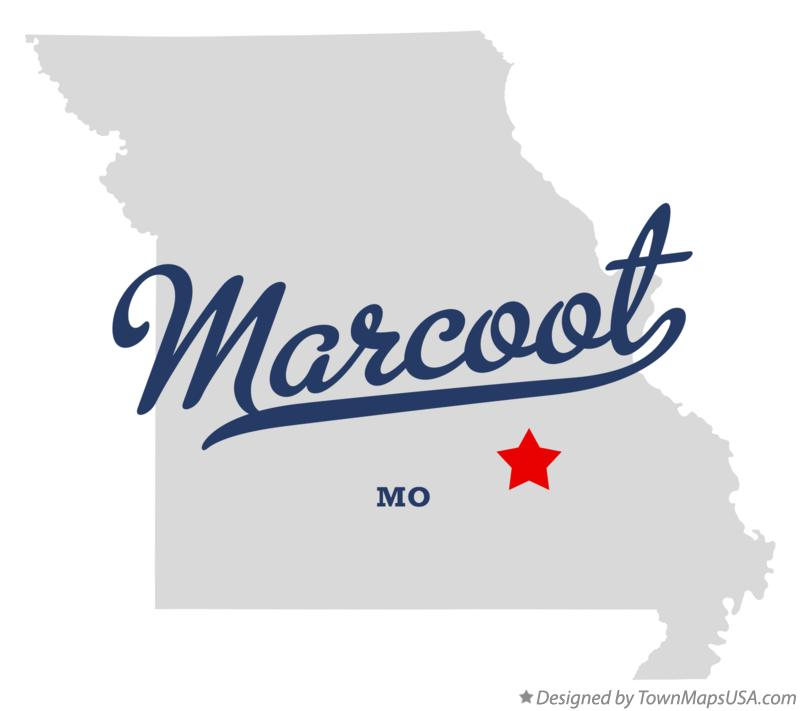Map of Marcoot Missouri MO