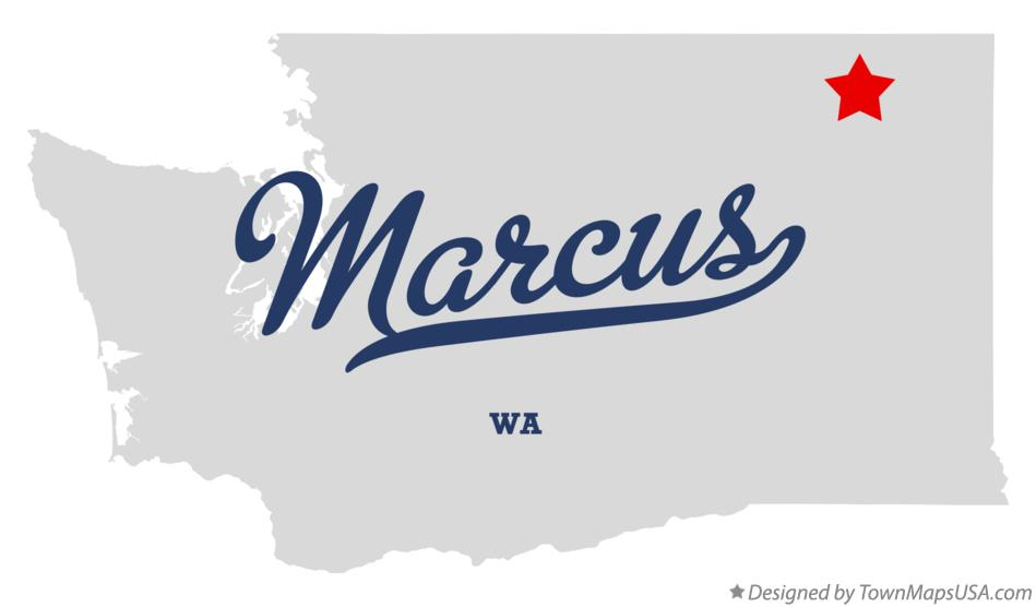 Map of Marcus Washington WA