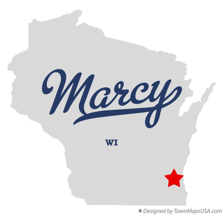 Map of Marcy Wisconsin WI