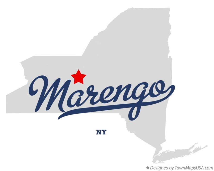 Map of Marengo New York NY