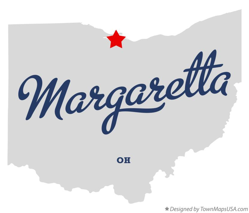 Map of Margaretta Ohio OH