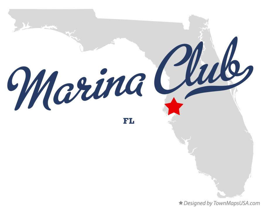 Map of Marina Club Florida FL
