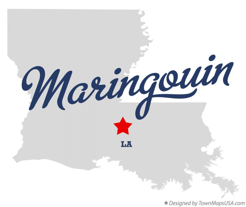 Map of Maringouin Louisiana LA