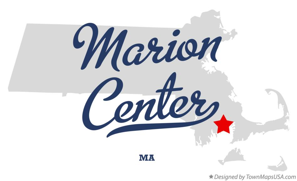 Map of Marion Center Massachusetts MA