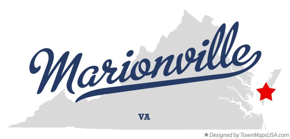 Map of Marionville Virginia VA