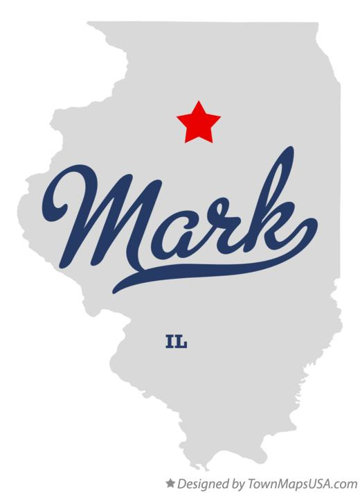Map of Mark Illinois IL
