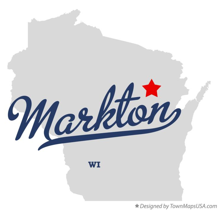 Map of Markton Wisconsin WI