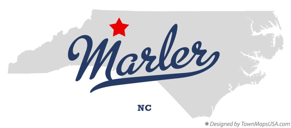 Map of Marler North Carolina NC