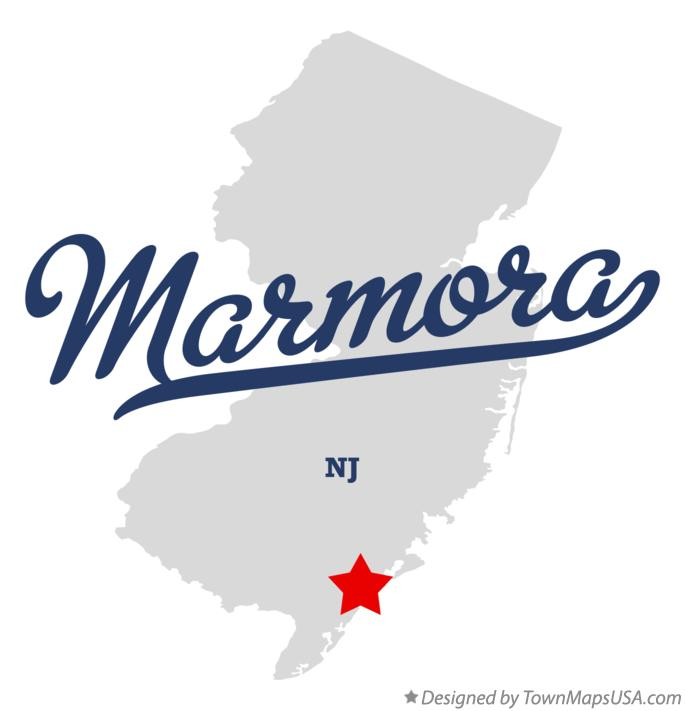 Map of Marmora New Jersey NJ