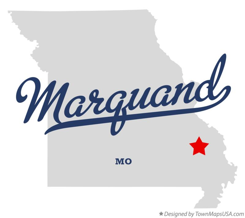 Map of Marquand Missouri MO