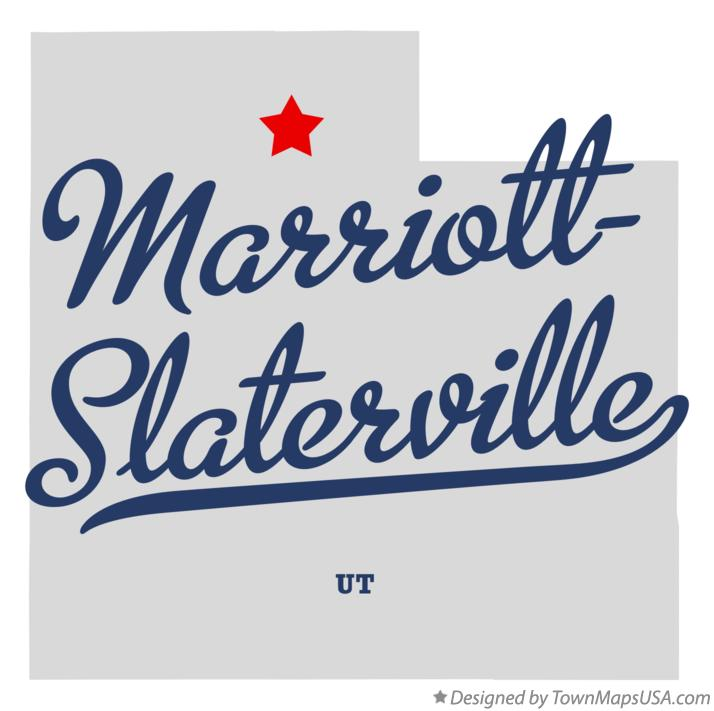 Map of Marriott-Slaterville Utah UT