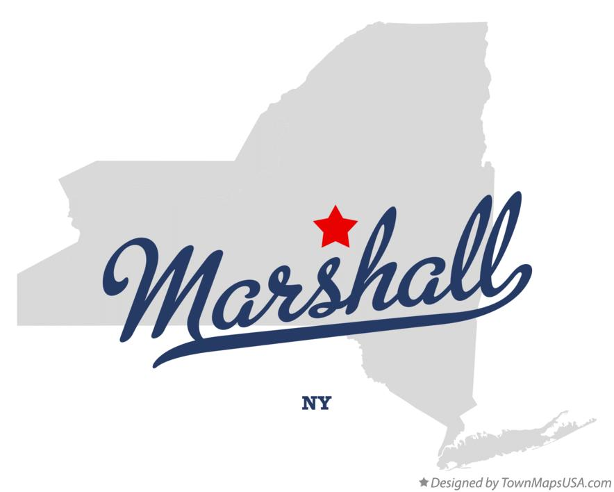 Map of Marshall New York NY