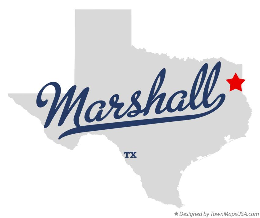 Where Is Marshall Texas On The Map